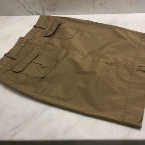 Old Navy denim/ khaki skirt bundle